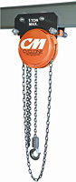 CM Cyclone Army Type Plain Trolley Hoist