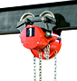 CM Cyclone Plain Trolley Hoist for Low Headroom