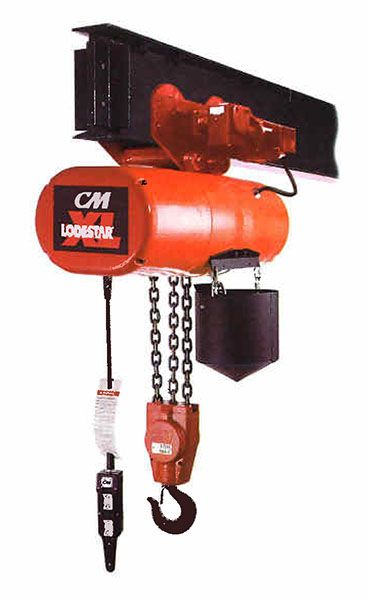 item 5291m cm lodestar xl electric chain hoist motor. Black Bedroom Furniture Sets. Home Design Ideas