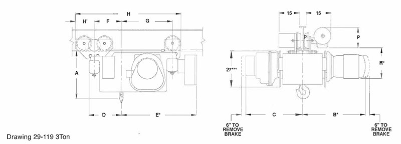 DEW3-112RT30D2  Ton Yale Hoist Wiring Diagram For Electric on