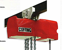COFFING Hoist Accessories - Weather Resistant Covers