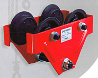 COFFING Hoist HT Model Spark Resistant Trolley 1/2 to 2 t