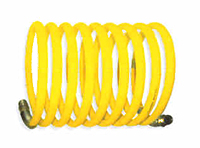 COFFING Hoist Accessories - Recoil Air Hose with Fittings