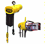 BUDGIT Electric Chain  VFD Hoist - Single Speed 10 ft Lift