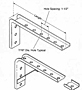 Angle Brackets for Web Mounting